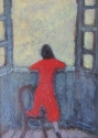 Anthony Murphy. Oils. Girl at the Window. - picture 1