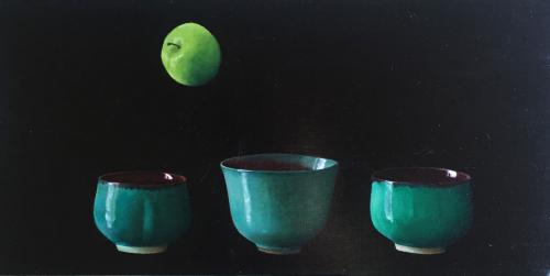 Gravity Series, Green Apple No 2