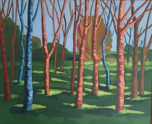Bushton Trees, Summer