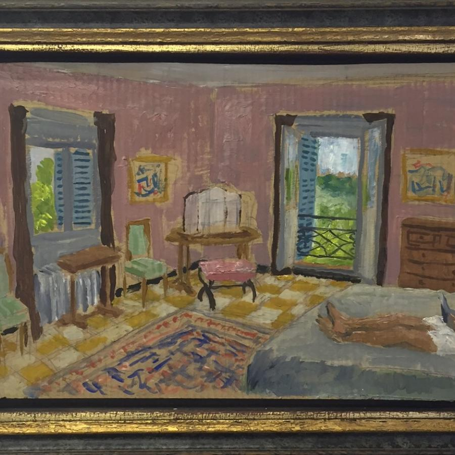 Bedroom in Provence, Afternoon