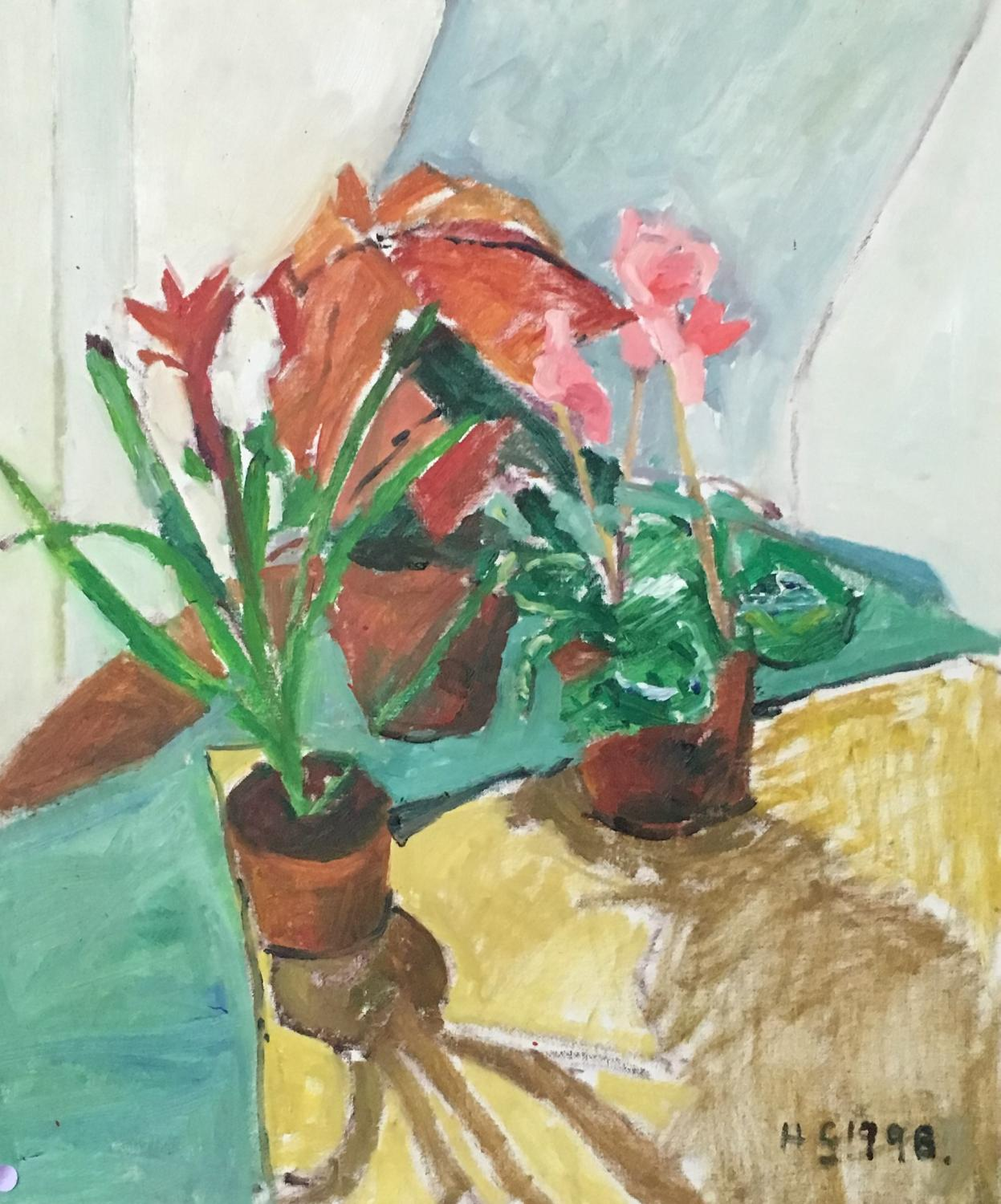 Potted Plants by Nicolas Gage