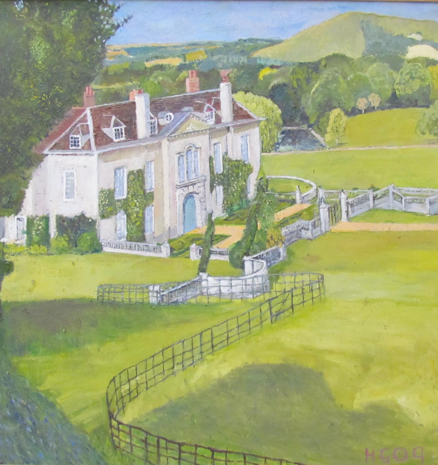 Firle Place by Nicolas Gage