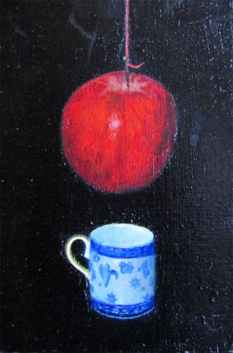 Judith Kuehne -  'An Apple suspended'