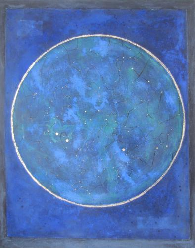 Jill Tattersall. Night sky, Magna Carta.