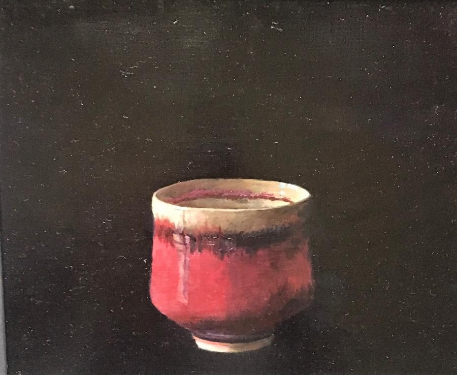 Judith Kuehne. Wine red cup.