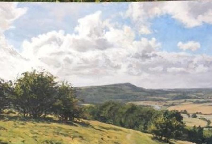Jaime Etherington. Towards Firle.
