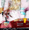 Shirley Trevena. Two plants and two carpets. - picture 1