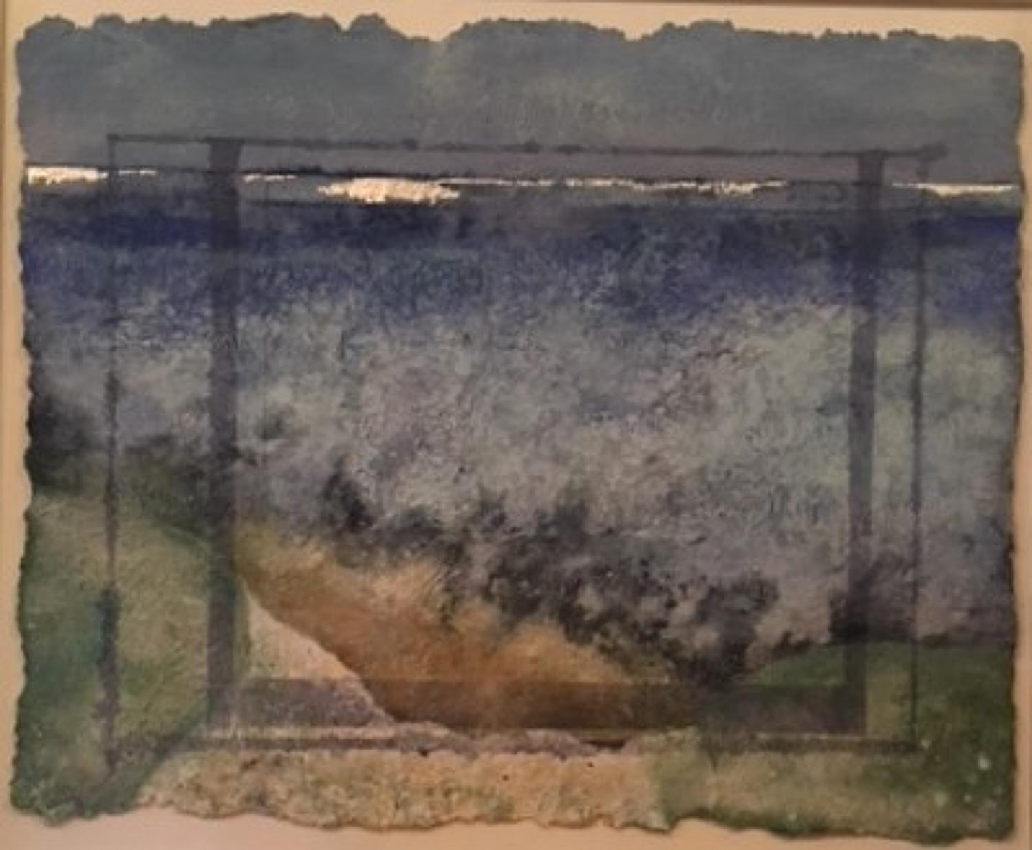 Jill Tattersall. Looking from the Cliff.