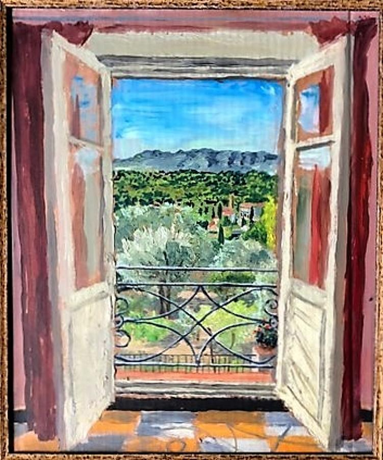 Alex Uxbridge - Bedroom window, Provence 11.