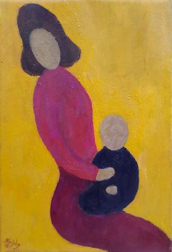 Anthony Murphy - Mother and Child