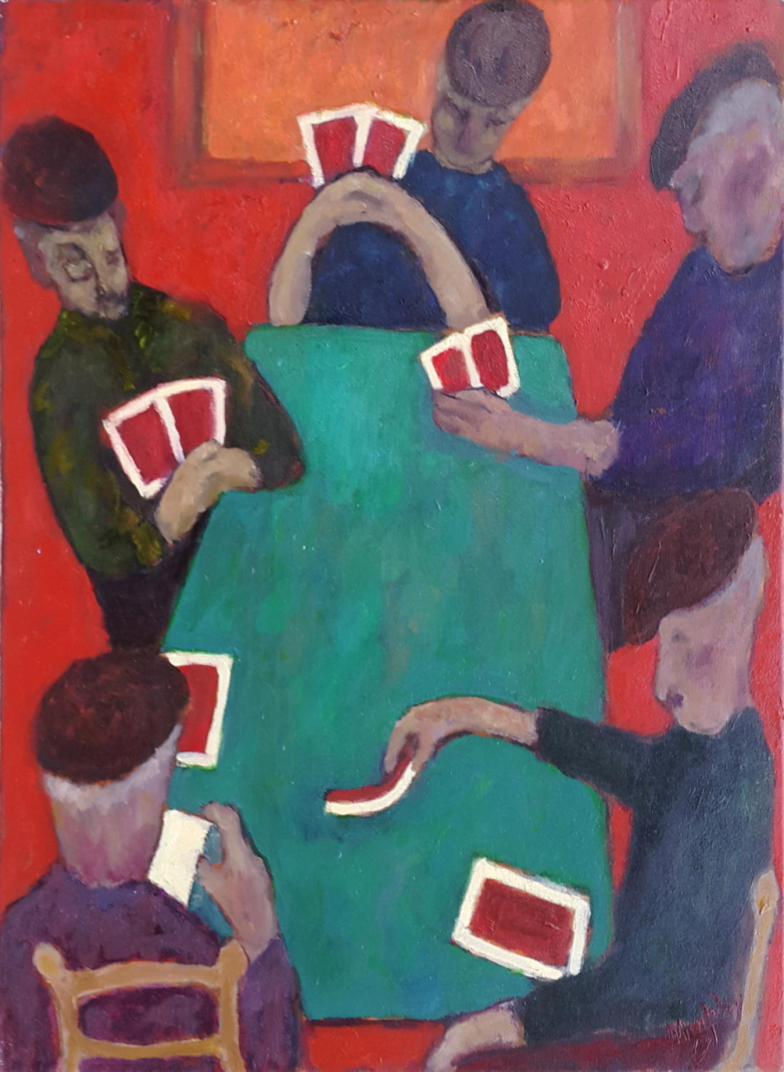 Anthony Murphy - The Card Players