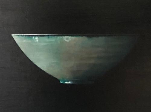 Reflections in a Blue Bowl