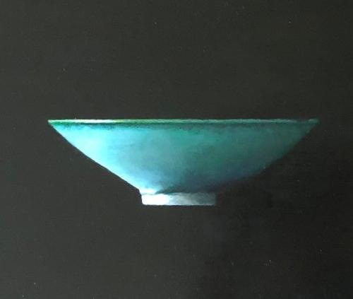 Green Bowl and teardrop