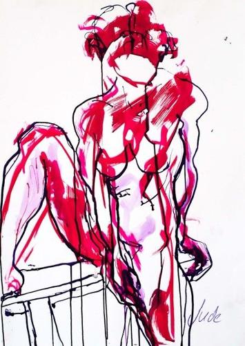 Jusith Brenner. Female Nude 1.
