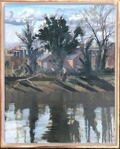 David parfitt. NEAC. Sun and shadow, March morning