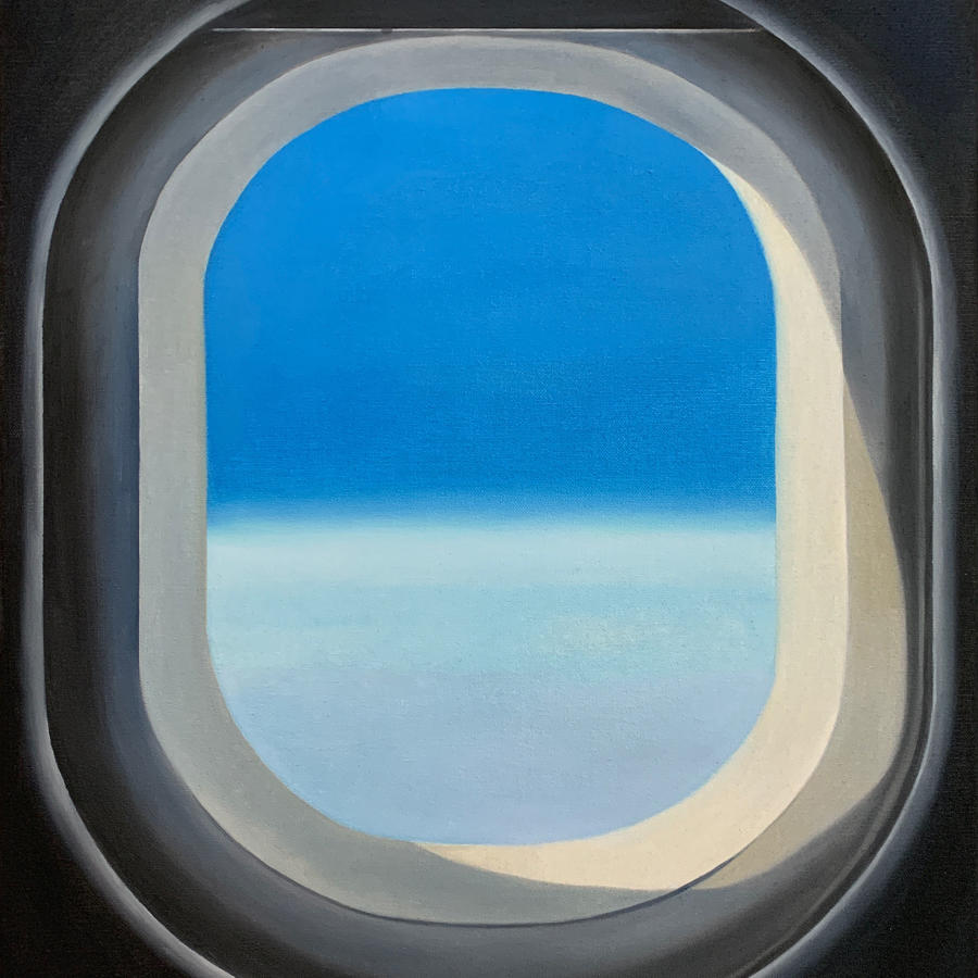 Frances Featherstone. Blue sky thinking.