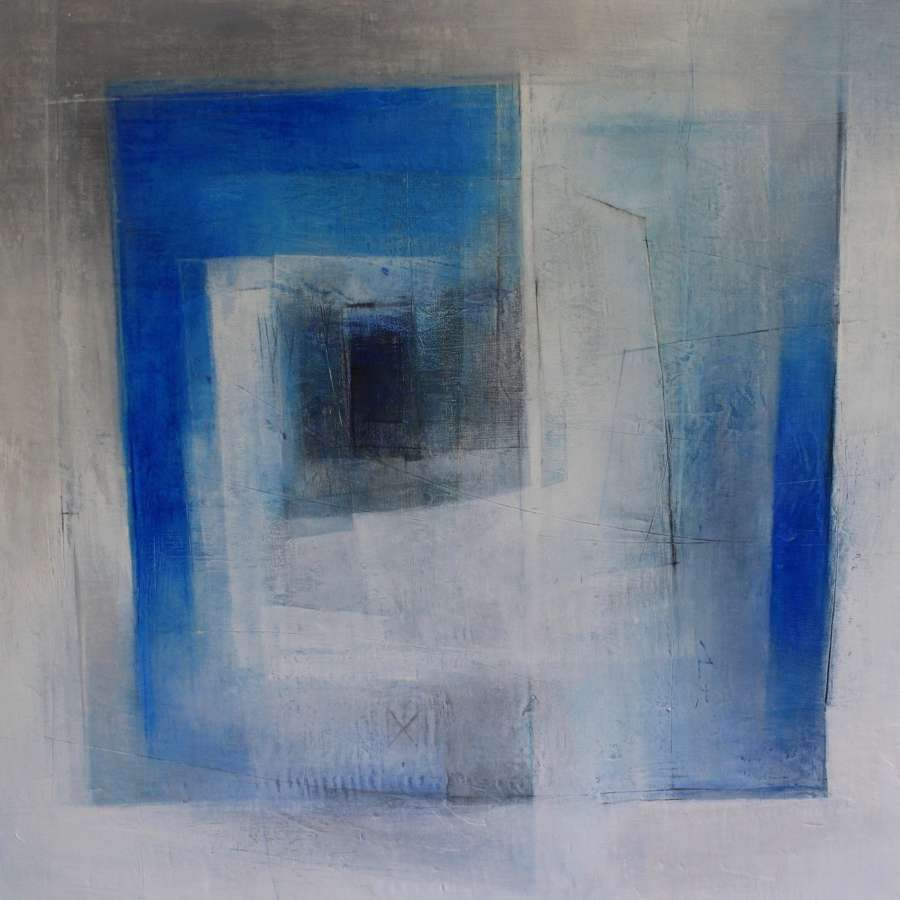 Michele Griffiths. The blue and white Geometry of Greece