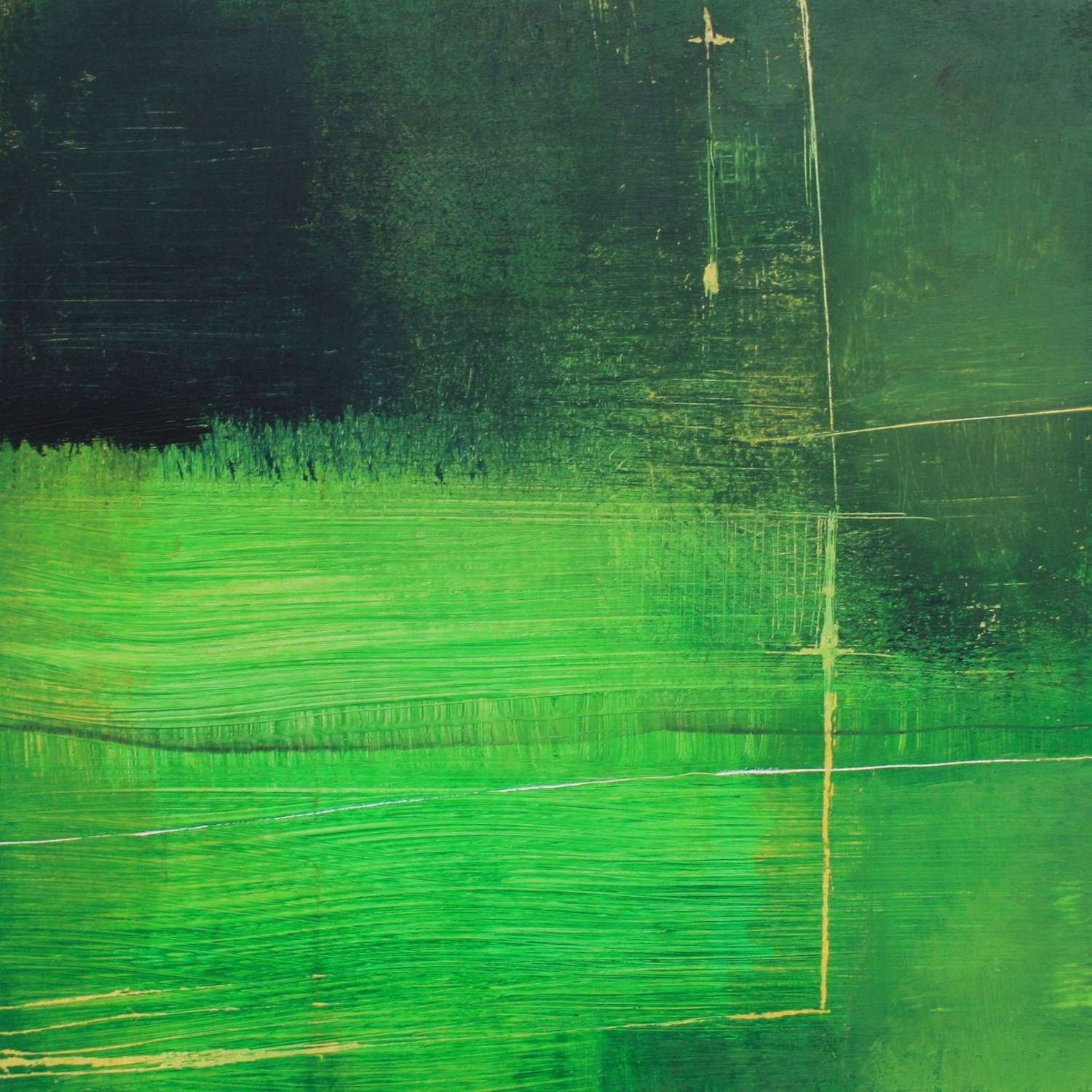 Michele Griffiths. Instense green