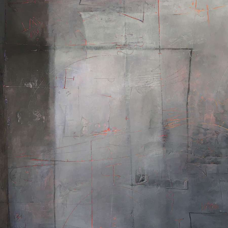 Michele Griffiths. Wall Fragment Flag.