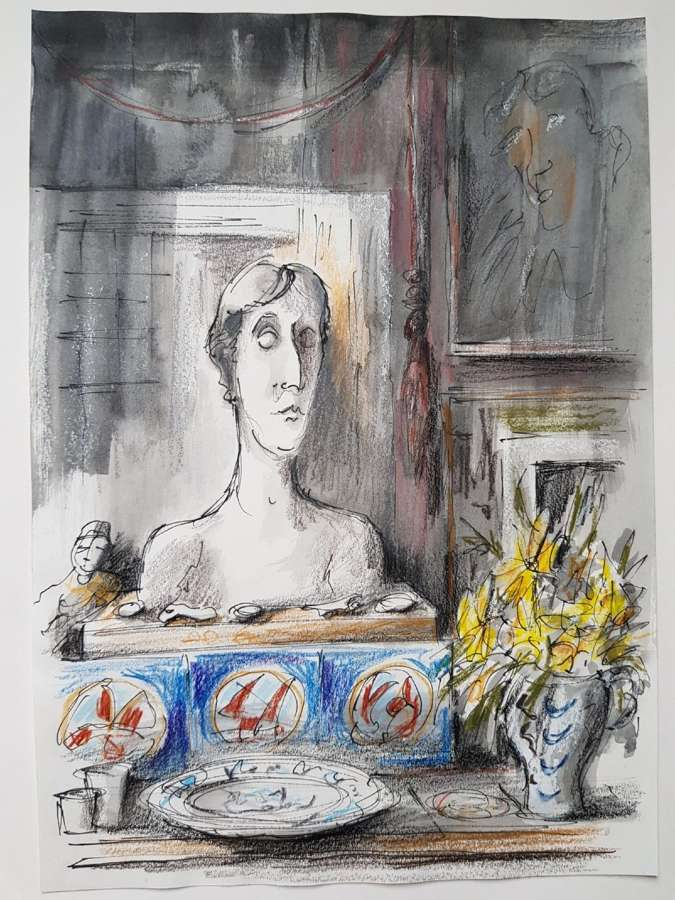Trevor Newton. Virginia Woolf.