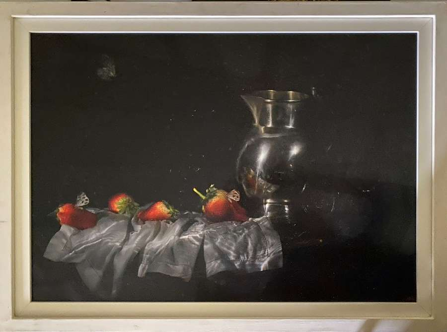 Alexander James. Strawberries and Butterfly