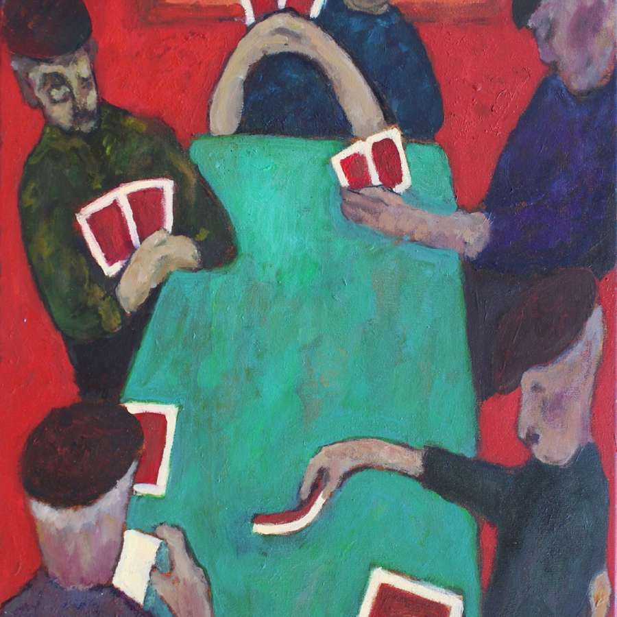 Anthony Murphy. Card Players.
